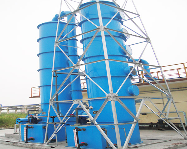 FRP purification tower use precautions