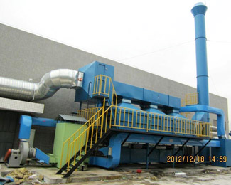 The operation of organic waste gas treatment equipment should pay attention to what